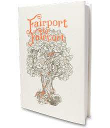 Visual of the Fairport by Fairport book, published by Rocket 88